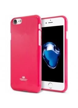 Korean Mercury Pearl iSkin TPU For iPhone 7/8 4.7 inch - Hot Pink