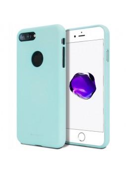 Genuine Mercury Goospery Soft Feeling Jelly Case Matt Rubber For iPhone 7 Plus - Mint
