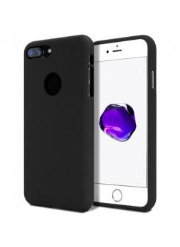 Genuine Mercury Goospery Soft Feeling Jelly Case Matt Rubber For iPhone 8 Plus - Black