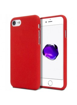 Genuine Mercury Goospery Soft Feeling Jelly Case Matt Rubber For iPhone 7/8 - Red
