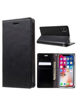 Korean Mercury BlueMoon Flip Case Cover For iPhone X / XS 5.8'' - Black