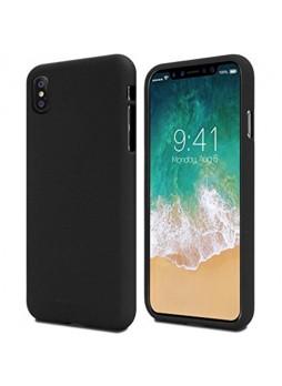 Genuine Mercury Goospery Soft Feeling Jelly Case Matt Rubber For iPhone X / XS 5.8'' - Black