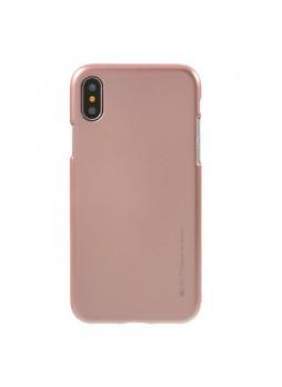 "Korean Mercury  I-Jelly Case For Iphone XR 6.1""  Rose Gold"