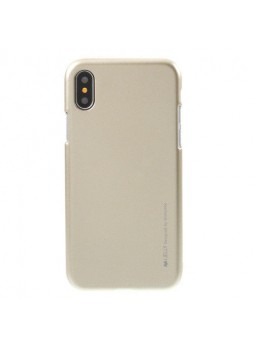 """Korean Mercury  I-Jelly Case For Iphone XR 6.1""""  Gold"""