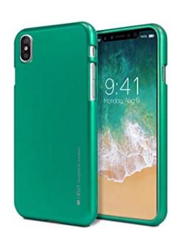 "Korean Mercury  I-Jelly Case For Iphone XR 6.1""  Green"