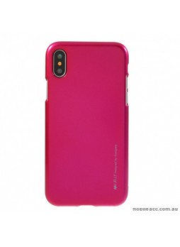 """Korean Mercury  I-Jelly Case For Iphone XR 6.1""""  Hotpink"""