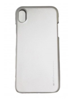 """Korean Mercury  I-Jelly Case For Iphone XR 6.1""""  Silver"""