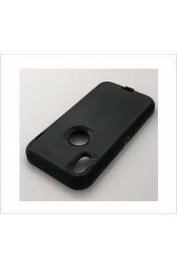 Defender heavy Duty Case For  iphone XR 6.1'' Black