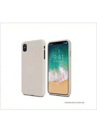 Korean Mercury Soft feeling  Jelly Case For Iphone  XS MAX 6.5'' Stone