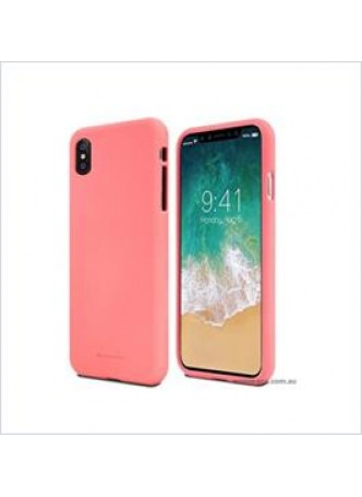 Korean Mercury Soft feeling  Jelly Case For Iphone  XS MAX 6.5'' Pink