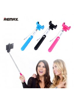 Remax Extendable Selfie Stick Wire Control with Cable