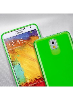 Momax Ultra Thin Clear Breeze Case for Samsung Galaxy Note 3 - Green