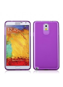 Momax Ultra Thin Clear Breeze Case for Samsung Galaxy Note 3 - Purple