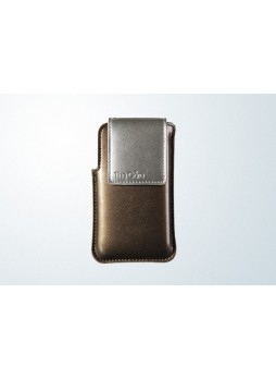 Patent Synthetic Leather Case for iPhone 4