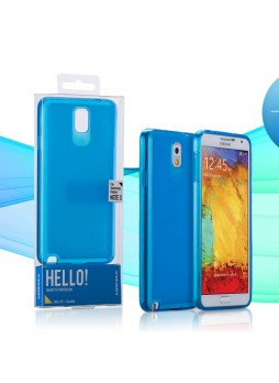 Momax Ultra Thin Clear Breeze Case for Samsung Galaxy Note 3 - Blue