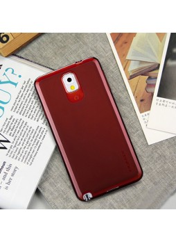 Momax Ultra Thin Clear Breeze Case for Samsung Galaxy Note 3 - Red