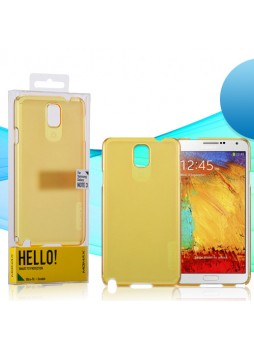 Momax Ultra Thin Clear Breeze Case for Samsung Galaxy Note 3 - Yellow