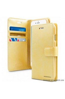 Mercury Goospery Blue Moon Diary Wallet Case For iPhone 13 Pro MAX 6.7inch  Gold