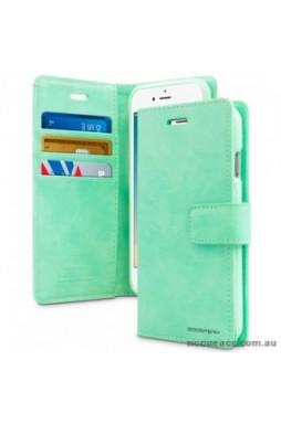 Mercury Goospery Blue Moon Diary Wallet Case For iPhone 13 Pro 6.1inch  Mint Green