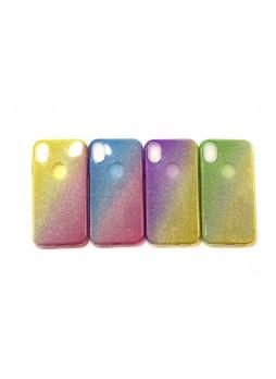 Bling Simmer TPU Gel Case For iPhone XR  6.1' Blue
