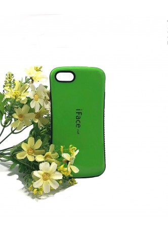IfaceMall  Anti-Shock Case for iPhone 7 8  4.7'  Lime