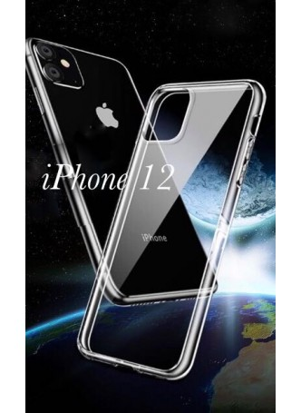 3M Anti Shock Heavy Duty TPU PC Case Cover For iPhone 12 6.7inch  Ultra Clear