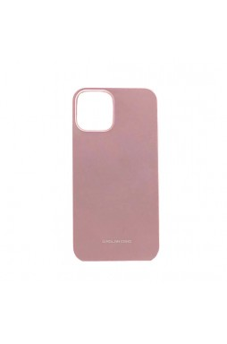 Genuine MOLAN CANO TPU Jelly Case For iPhone 12 6.7inch  Rose Gold