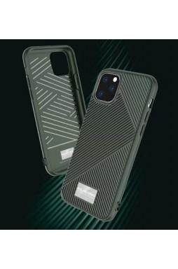 Genuine MOLAN CANO Jelline Bumper Back Case For iPhone11 Pro MAX 6.5'  Grey