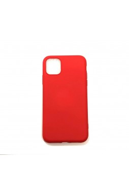 SR Soft Feeling Jelly Case Matt Rubber For iPhone 11 Pro MAX 6.5 inch  Red