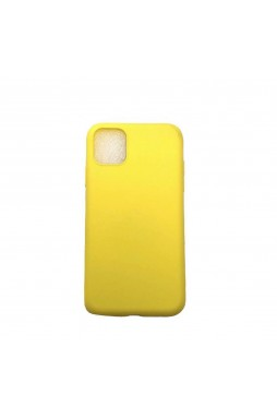 SR Soft Feeling Jelly Case Matt Rubber For iPhone 11 Pro MAX 6.5 inch  Yellow