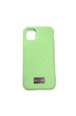 Genuine MOLAN CANO Jelline Bumper Back Case For iPhone11 6.1'  Green