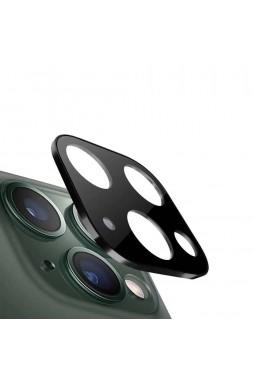 Aluminium Alloy Frame Camera Lens Protector For iPhone11  6.1' BLK