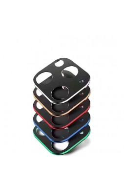 Aluminium Alloy Frame Camera Lens Protector For iPhone11  6.1' Gold