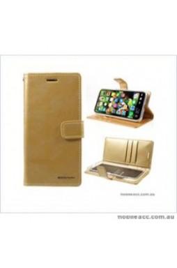Korean Mercury Bluemoon Diary Wallet Case ForSamsung S20 Plus  6.7 inch  Gold
