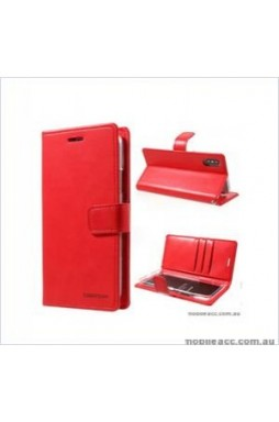 Korean Mercury Bluemoon Diary Wallet Case ForSamsung S20 Ultra  6.9 inch  Red