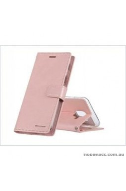 Korean Mercury Bluemoon Diary Wallet Case ForSamsung S20 Ultra  6.9 inch  Rose Gold