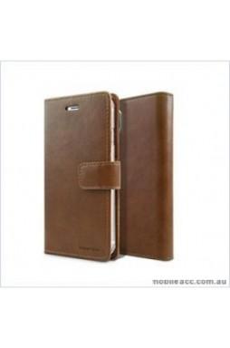 Korean Mercury Bluemoon Diary Wallet Case ForSamsung S20 Ultra  6.9 inch  Brown