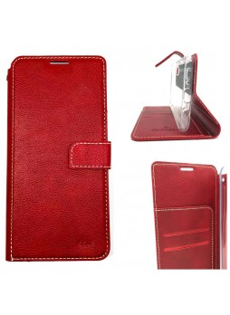 Molancano ISSUE Diary Wallet Case For Samsung A70  Red