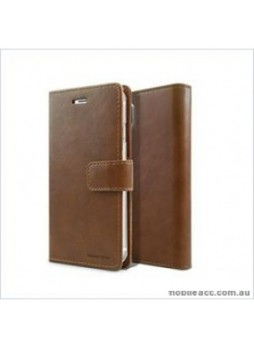 Korean Mercury Bluemoon Diary Wallet Case For  Samsung  Note 9  Brown