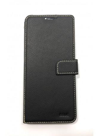 Hana  Wallet Case For Samsung  Galaxy  A50 Black