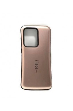 ifacMall Anti-Shock Case For Samsung S21 Ultra 6.8 inch  Rose Gold