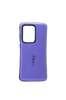 ifacMall Anti-Shock Case For Samsung S21 Ultra 6.8 inch  Purple