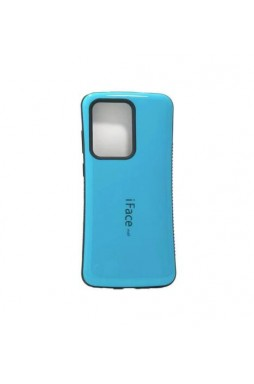 ifacMall Anti-Shock Case For Samsung S21 Ultra 6.8 inch  Aqua