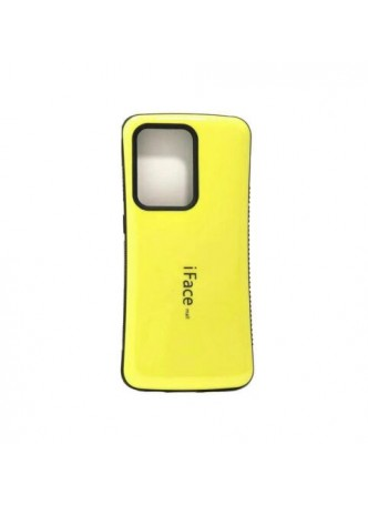 ifacMall Anti-Shock Case For Samsung S21 Ultra 6.8 inch  Yellow