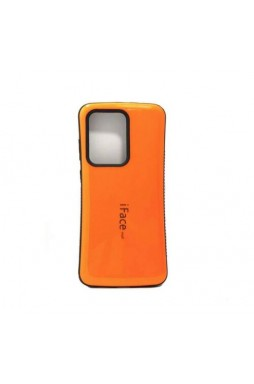 ifacMall Anti-Shock Case For Samsung S21 Ultra 6.8 inch  Orange