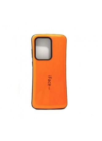 ifacMall Anti-Shock Case For Samsung S21 Ultra 6.8 inch  Orange