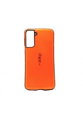 ifacMall Anti-Shock Case For Samsung S21 Plus  Orange