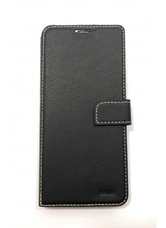Hana  Wallet Case For Samsung  Galaxy  A20 - A30 Black