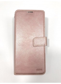 Hana  Wallet Case For Samsung  Galaxy  A20 - A30 Rose Gold