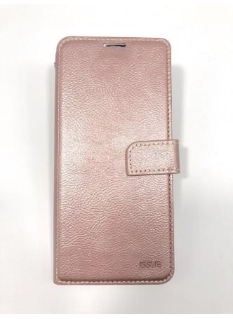 Hana  Wallet Case For Samsung  Galaxy  A20 - A30 Rose Gold
